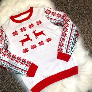 Sweaters - Ugly Xmas Christmas knit sweater nwot